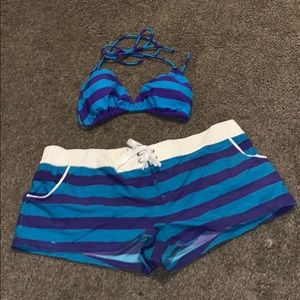 OP two piece bathing suit